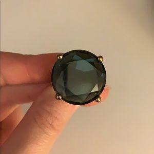 Kate Spade Smoky Blue Cocktail ring